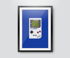 Techncial Drawing – Game Boy