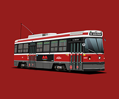 Technical Drawing — TTC Streetcar